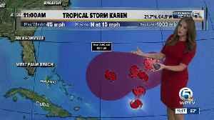Tracking the Tropics - 9/25/19 [Video]