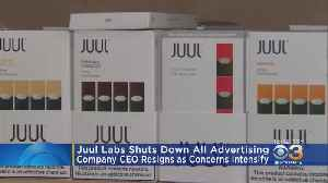 Juul Labs Shuts Down All Advertising, CEO Steps Down As Number Of Vaping-Related Illnesses Grows [Video]
