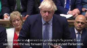 Boris Johnson attempts to goad opposition parties into backing general election [Video]