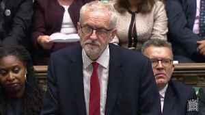 Jeremy Corbyn calls Boris Johnson a 'dangerous Prime Minister' [Video]