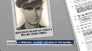 Homefront: Air Force veteran works to learn more about great-uncle killed in WWII [Video]
