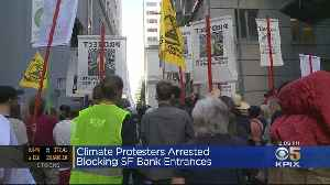 Climate Change Demonstrators Block Streets In San Francisco Financial District [Video]