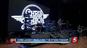 Chris Janson talks Ryman, new album and how far he's come [Video]
