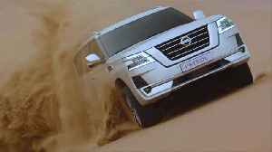 Nissan Patrol Driving in the desert [Video]