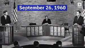 This Day in History: First Kennedy-Nixon Debate [Video]
