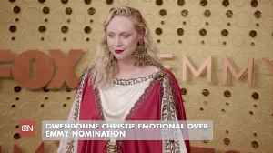 Gwendoline Christie's Emmy Feelings [Video]