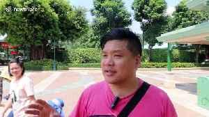 After protests, mainland China tourists snub Hong Kong's Disneyland [Video]