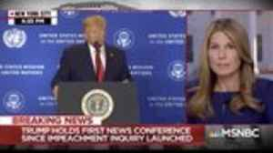 MSNBC's Nicolle Wallace Cuts Away From Trump's Ukraine Speech to Fact-Check Him | THR News [Video]