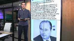 Tributes paid on social media to Jacques Chirac | #TheCube [Video]
