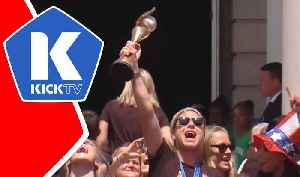 USWNT Victory Parade in NYC [Video]