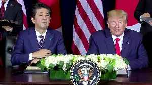 U.S., Japan announce details of new trade deal [Video]