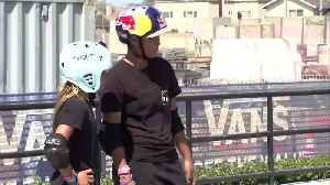The 11-year-old skateboarding prodigy with her eyes on Tokyo [Video]