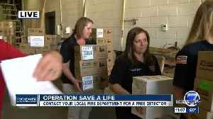 Operation Save a Life: Denver7, Kidde, Home Depot team up to give out smoke, carbon monoxide alarms [Video]