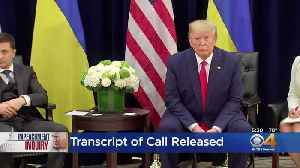 News video: White House Releases Transcript Of Call Between President Trump And Leader Of Ukraine
