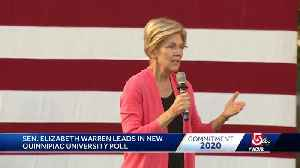 News video: Sen. Warren talks about impeachment at campaign stop