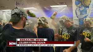 Brewers clinch playoff spot second year in a row [Video]