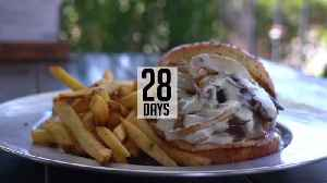 SIMPLY SWEET: 28 Day Aged Mushroom Burger [Video]