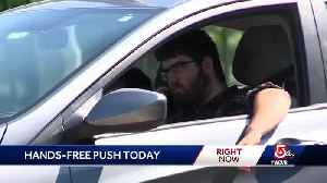 Crash victims push for hands-free driving bill [Video]