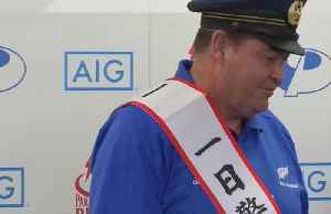 News video: New Zealand coach made chief of police in Japanese city of Beppu