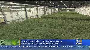 US House Passes Bill Giving Marijuana Businesses Access To Banking [Video]