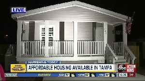 New affordable housing available in Tampa's University Area [Video]