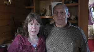 Couple travelling on narrowboat left stranded for four days due to a fault in lock [Video]