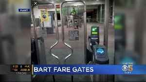 BART Board Approves New Type Of Turnstile To Discourage Fare Jumping [Video]