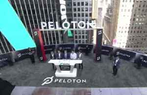 Peloton shares fall in market debut [Video]