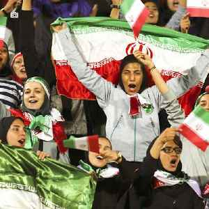 Iran lifts its 40-year ban on females entering soccer stadiums [Video]
