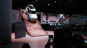 IAA 2019 Jaguar Land Rover - The new Land Rover Defender [Video]