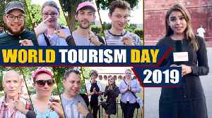 World Tourism Day 2019, watch what tourists think about India  OneIndia News [Video]