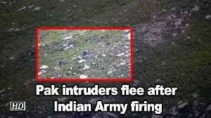 Pak intruders flee after Indian Army firing [Video]