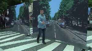 Hollywood celebrates 50th anniversary of Beatles' Abbey Road album [Video]