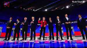 Crowded Stage! Next Democratic Debate Will See a Dozen Candidates on Same Night [Video]