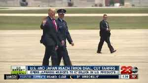 Ag Report: United States, Japan agree on limited trade deal benefiting farmers [Video]