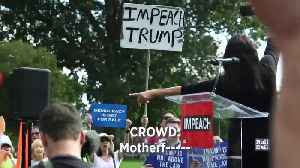 Rep. Tlaib leads 'impeach the...' chant [Video]