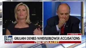 "Rudy Giuliani blasts ""bitter"" Mitt Romney [Video]"