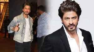 Shahrukh Khan Feeling Uncomfortable To Face Media [Video]