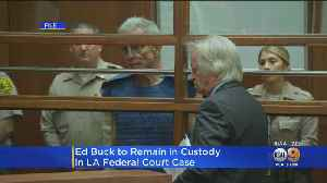 Ed Buck Ordered To Remain In Jail Pending October Court Date [Video]