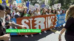Second round: The global climate strike strikes again [Video]