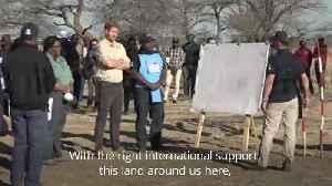 Duke of Sussex visits landmine field in Angola [Video]