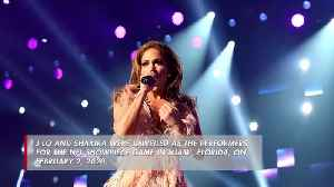 Jennifer Lopez pledges 'explosion of fun' at Super Bowl [Video]