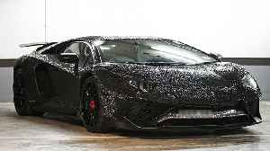 Lamborghini Covered In Two Million Crystals   RIDICULOUS RIDES [Video]