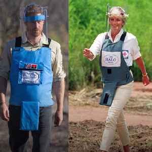 Prince Harry follows Princess Diana's footsteps with Angola landmine visit [Video]