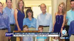 Family of murdered woman files lawsuit [Video]