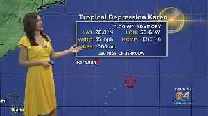 Tracking The Tropics: Karen Downgraded To A Tropical Depression [Video]