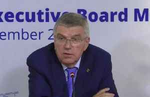 IOC's Bach says fresh look needed at Russia's status in 2020 [Video]
