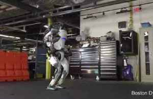 Boston Dynamics' humanoid robot shows off gymnastic routine [Video]