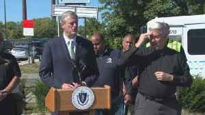 Gov. Baker Speaks About Lawrence Gas Leak [Video]