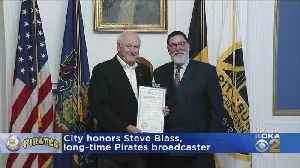 Mayor Bill Peduto Holds Proclamation For Pittsburgh Pirates Legend Steve Blass [Video]